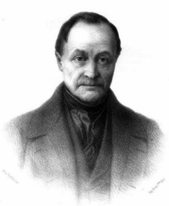 Auguste Comte, uno de los representantes del positivismo histórico