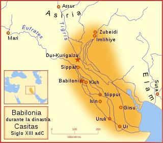 Babilonia durante las dinastías casitas