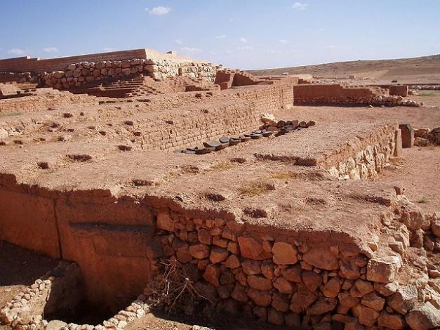 Parte de las ruinas arqueológicas de la ciudad siria de Ebla