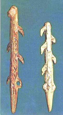 Arpones del magdaleniense
