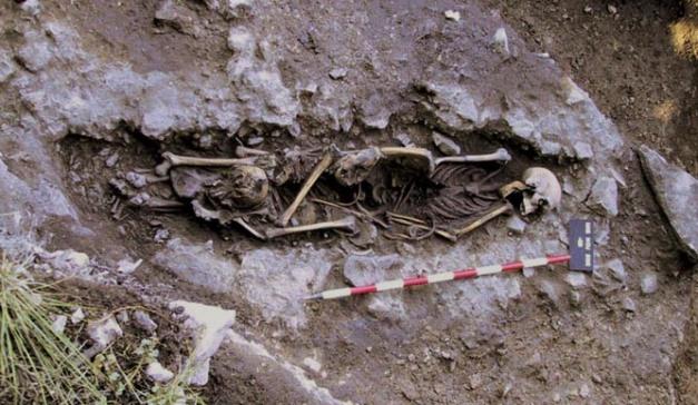 Yacimiento funerario de Cingle del Mas Nou, VII milenio a.C.