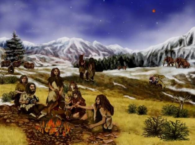 Los neandertales en un mundo muy frío