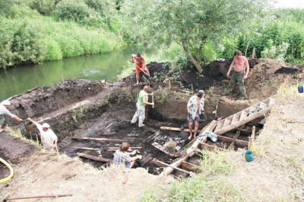 Yacimiento mesolítico ruso en el que se evidencian las actividades pesqueras