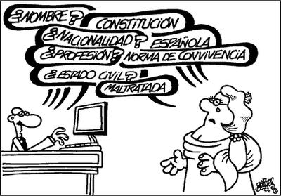 Algo de humor para representar el estado actual de la Constitución