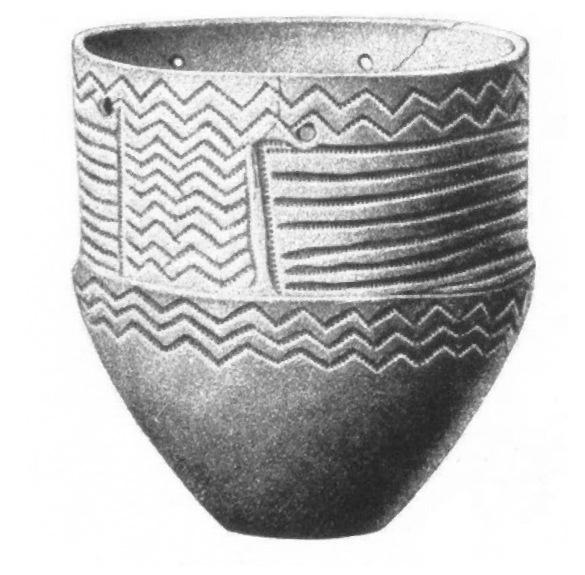 Cerámica de la Cultura de los Vasos de Embudo, a partir del quinto milenio