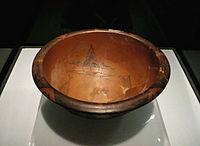 Pieza cerámica hallada en Banpo perteneciente a la cultura Yangshao