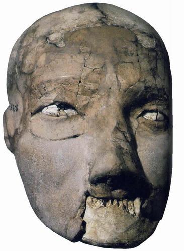 Cráneo del yacimiento de Jericó