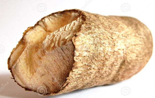 Ejemplo de ñame africano