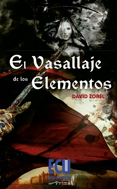 """Portada del libro """"El Vasallaje de los Elementos"""""""