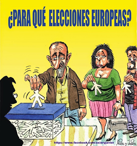Algo de humor sobre el papel de los ciudadanos en las elecciones europeas