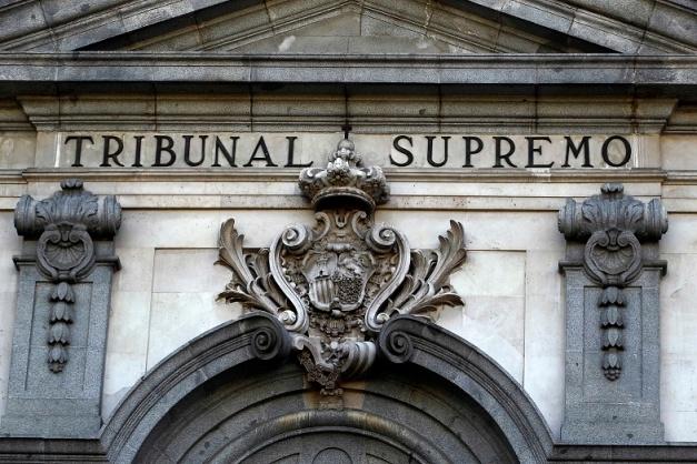 Fachada del Tribunal Supremo de Madrid