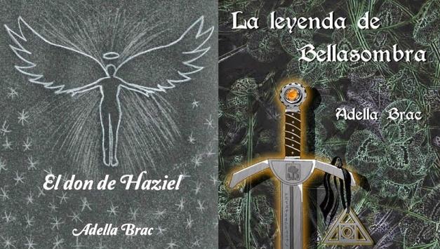 Imagen que combina las dos portadas de los libros de esta autora