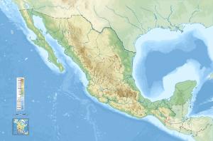 Mapa general de México