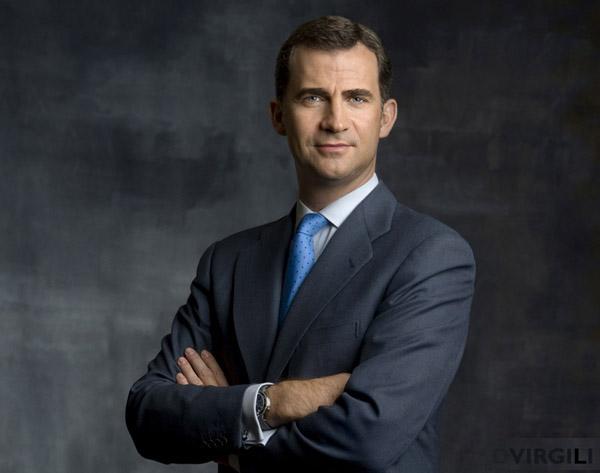 Una imagen oficial de nuestro nuevo rey, Felipe VI, mientras seguía siendo Príncipe de Asturias