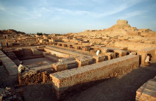 Yacimiento de Mohenjo Daro del neolítico indio