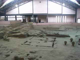 Parte del yacimiento habitacional de Banpo