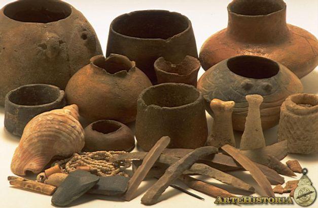 Algunas muestras del registro material hallado en Los Millares