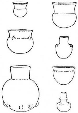 Tipología de las primeras producciones cerámicas nórdicas