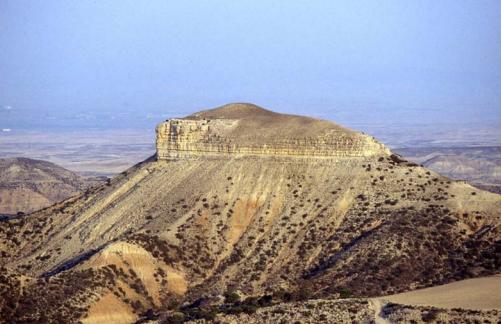 Vista general de Monte Aguilar, donde hay yacimientos arqueológicos de Cogotas I, con hallazgos de cerámica
