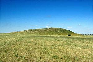 Kurgán de Sarmacia, al sur de los Montes Urales