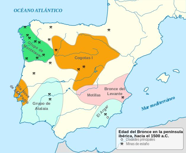 La Península Ibérica y sus complejos culturales a mediados de la Edad del Bronce