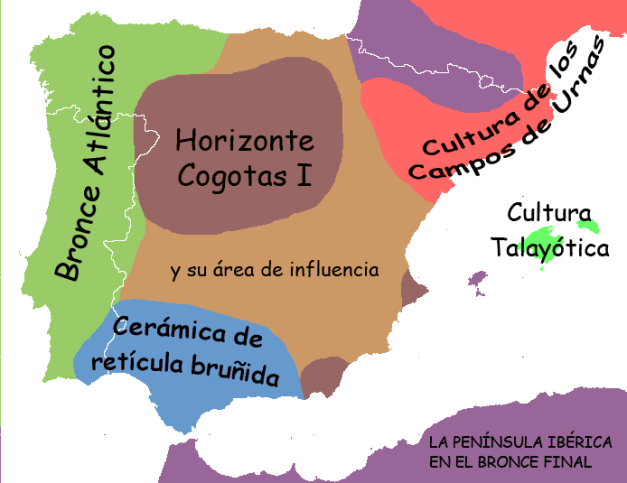 La península Ibérica y sus complejos culturales al final de la Edad del Bronce