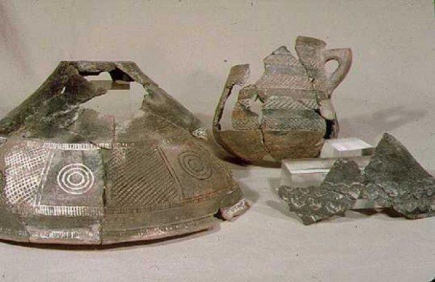 Parte de los materiales hallados en el yacimiento de Cogotas I de La Requejada