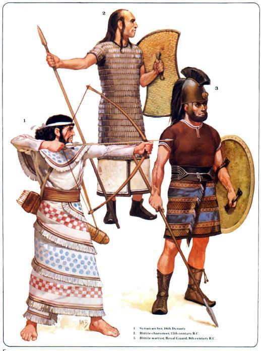 Guerreros-Hititas