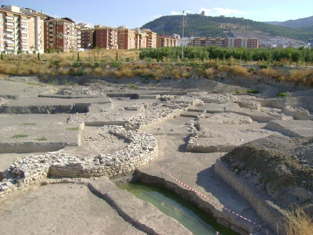 Vista general del yacimiento arqueológico de Marroquíes Bajos