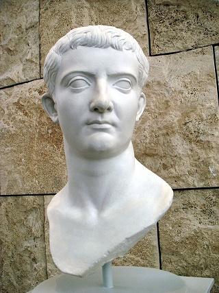 Busto del emperador Tiberio, que empezaba su gobierno tal día como hoy de hace 2000 años