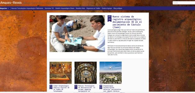 Captura de pantalla de este gran blog que combina investigación y nuevas tecnologías