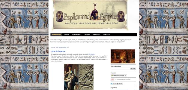Captura de pantalla de este magnífico blog del antiguo Egipto