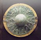 Escudo celtíbero contextualizado entre el siglo V-IV a.C.