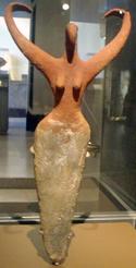 Figurilla femenina del predinástico egipcio de Naqada II