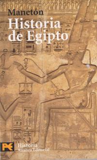 Portada de uno de los libros que se hacen en la actualidad con la información de Manetón