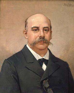 Retrato de Emilio Castelar, presidente de la I República Española