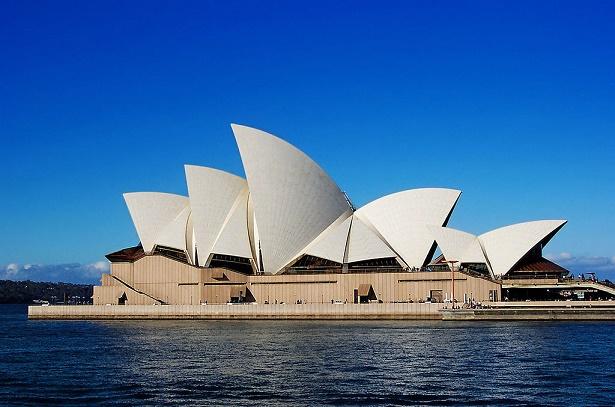 Imagen general del edificio de la Ópera de Sidney