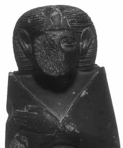 Estado actual de una estatua dedicada a Sobekkara Sobekneferu, la reina de finales de la dinastía XII