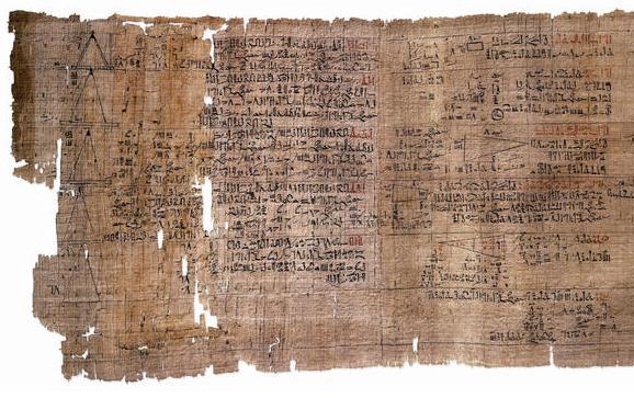 Estado actual del Papiro matemático de Rhind, una gran fuente de conocimiento textual