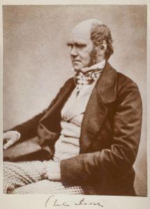 Imagen que muestra a Charles Darwin poco antes de la publicación  de su famosa obra