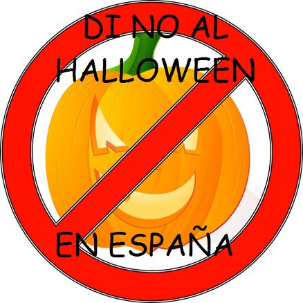 Aunque se celebrara hace un mes, di no a la celebración del Halloween en España. No por motivos religiosos, sino porque nunca se ha celebrado aquí, y mientras se pierden otras bellas tradiciones de toda la vida, se adquieren estas tradiciones de fuera.