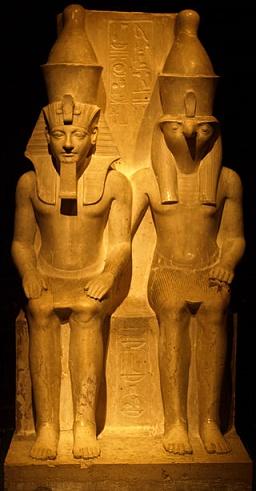 Estatua de Horemheb cuando llegó a ser el último rey de la Dinastía XVIII