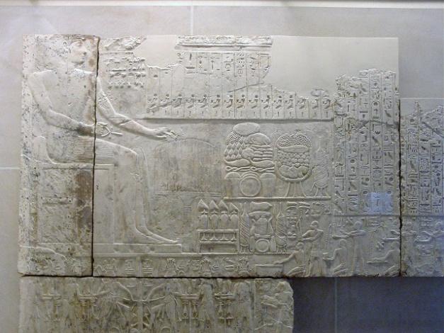 Relieve de Ramsés I encargado a hacer por su hijo, Seti I