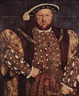 Famoso retrato de Enrique VIII de Inglaterra