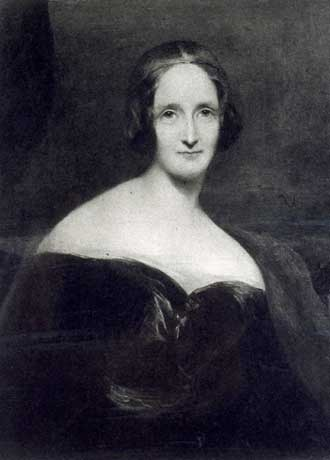 Retrato que representa a Mary Shelley, la autora de Frankenstein