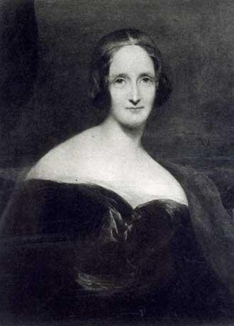 Retrato que representa a Mary Shelley, la autora de Frankenstein