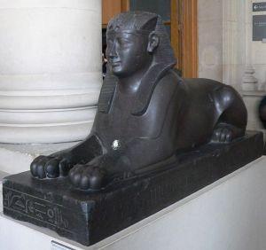 Esfinge en el que se representaría al rey Hakor, último reinado de la Dinastía XXIX