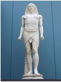 Estatua egiptizada de Antinoo, amante de Adriano