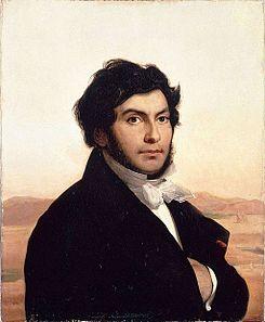 Retrato que muestra a Champolion, actualmente conservado en el Museo del Louvre