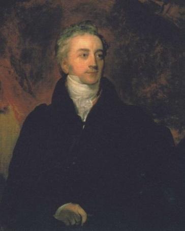 Retrato que muestra a Thomas Young